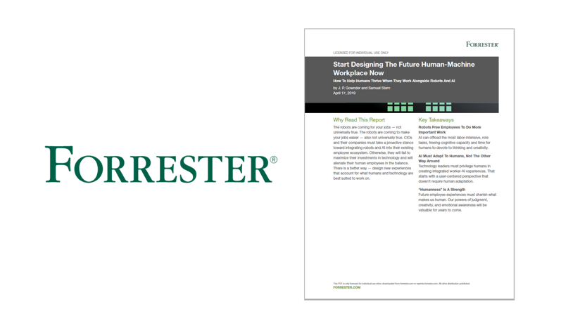 Forrester Report Designing Future Workplace